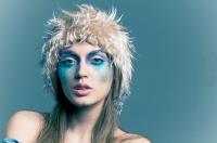 makijaż do sesji zdjęciowej, stylizacja zimowa, charakteryzacja zimowa