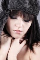 makijaż do sesji zdjęciowej studyjnej