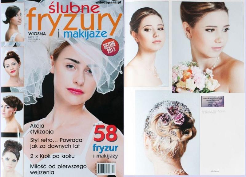 Publikacja ślubne Fryzury I Makijaże Wydanie 22013